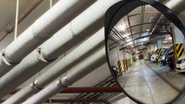 Segnaletica aziendale e stradale: gli specchi parabolici