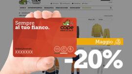 Shop online: le offerte di maggio