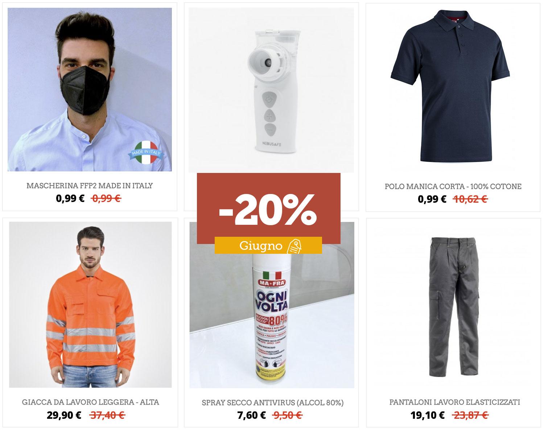 Shop online: le offerte di giugno