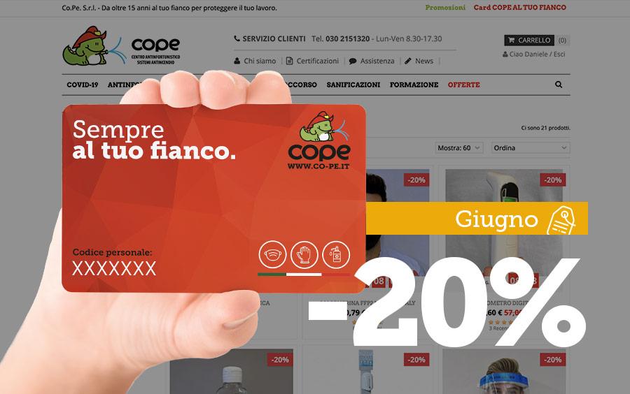 Shop online: ultimi giorni al -20%